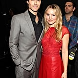 Ian Somerhalder and Kristen Bell