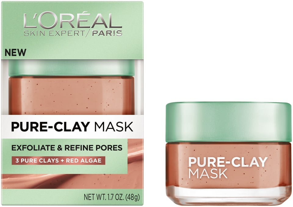 Image result for l'oreal paris pure clay mask exfoliate