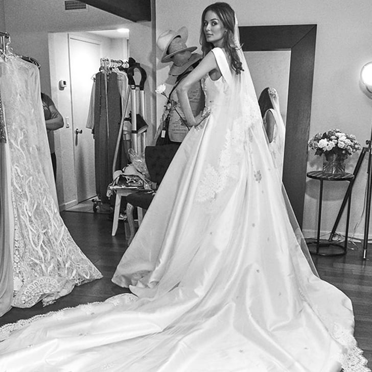 9 Style Stars Who Got Married in a Steven Khalil Gown | POPSUGAR ...