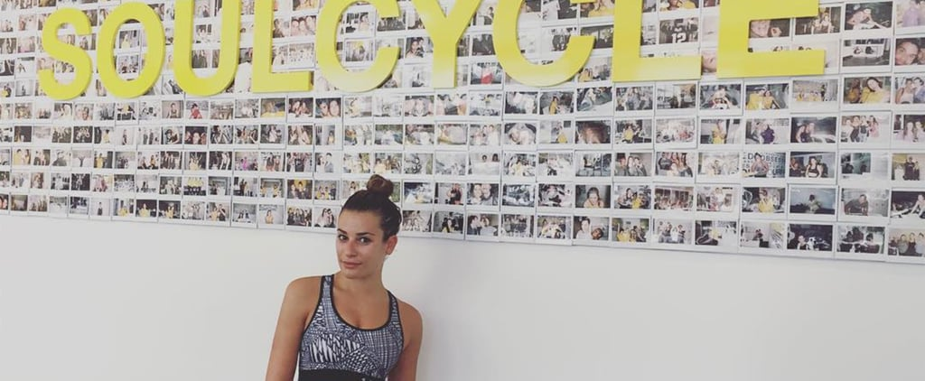 Lea Michele Loves SoulCycle More Than Anyone Has Loved Anything Ever
