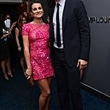 Lea Michele and Josh Duhamel
