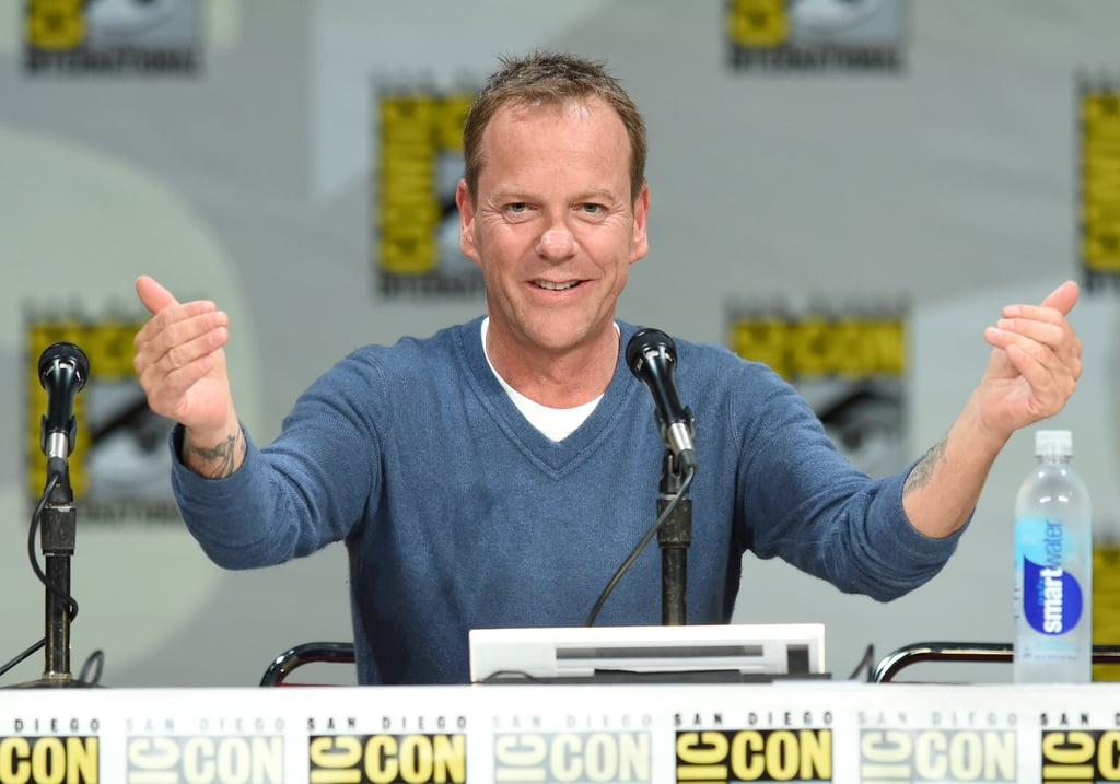 Kiefer Sutherland got fans excited at the 24: Live Another Day panel on Thursday.