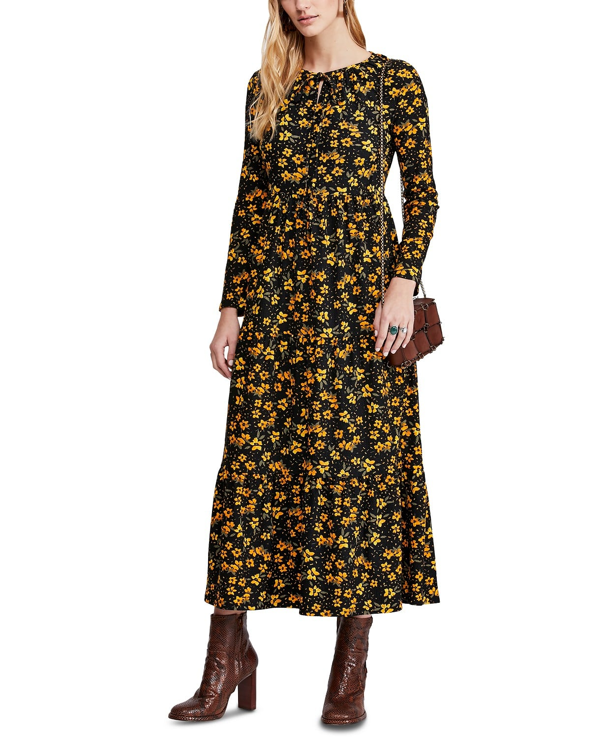 Free People Tiers Of Joy Midi Dress 26 Fall Dresses That