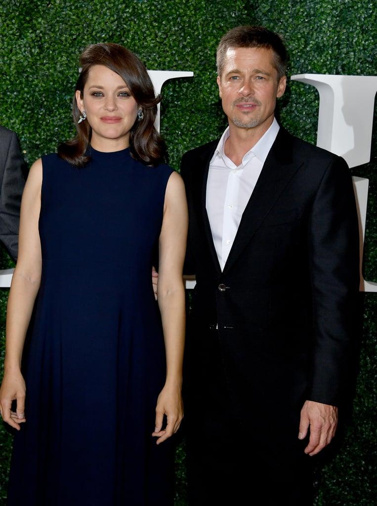 Brad Pitt at Allied LA Premiere Pictures November 2016
