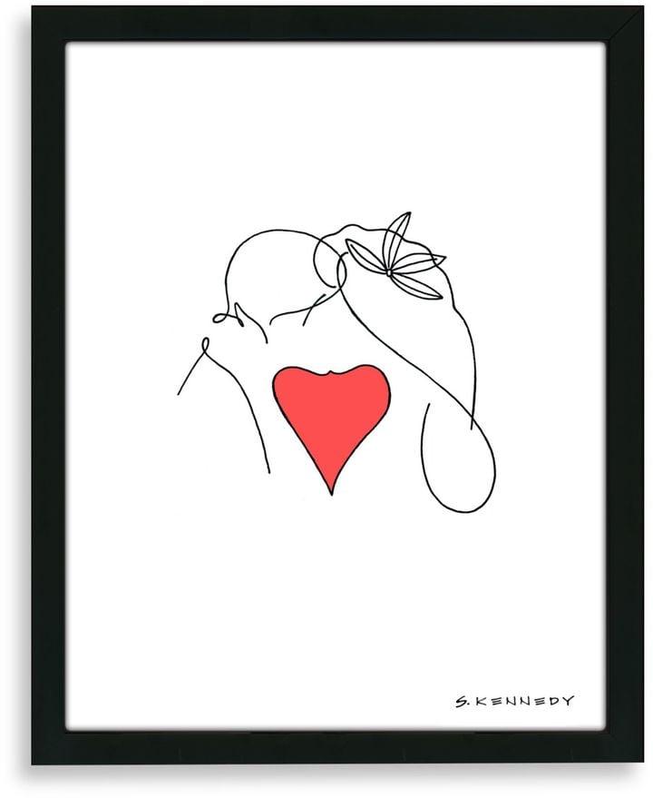 Framed Line Drawing ($50)