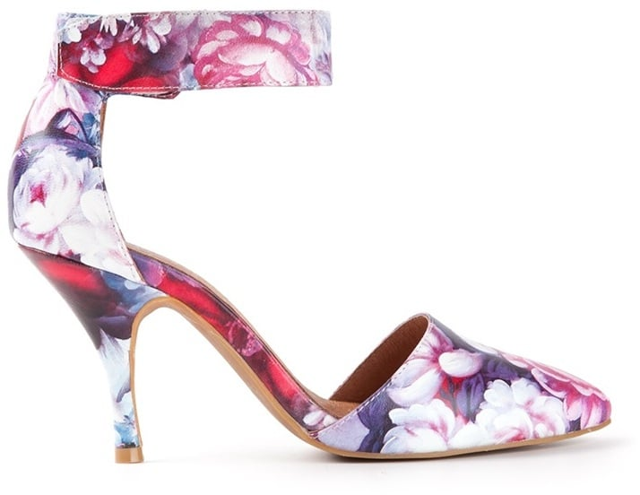 Jeffrey Campbell Floral-Print Pumps