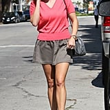 Reese Witherspoon shops in LA.