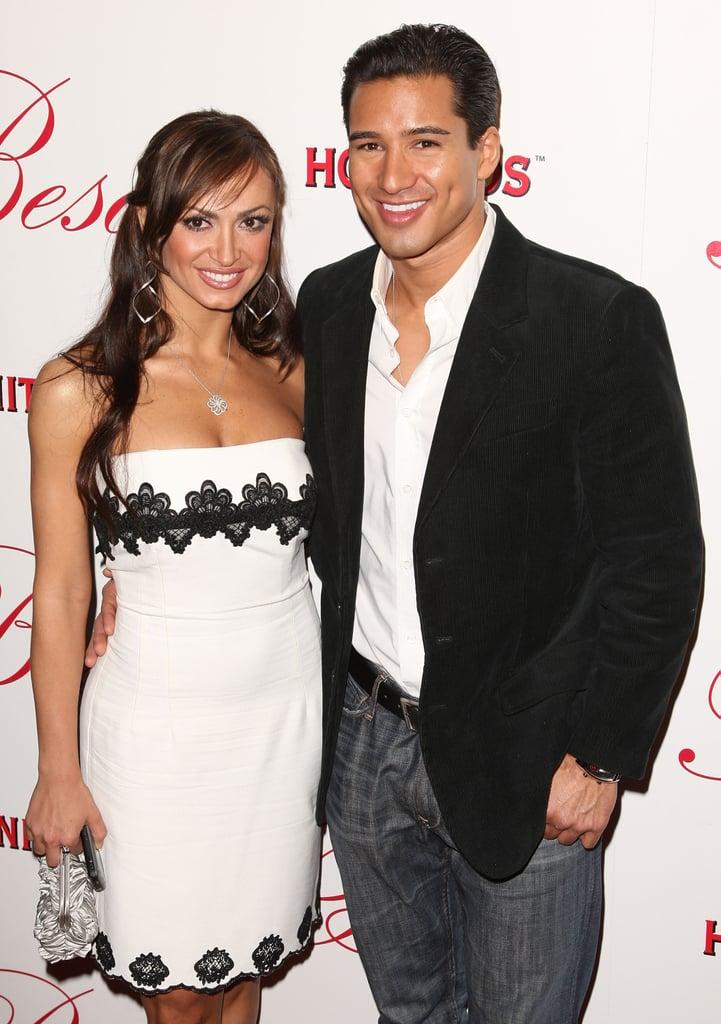 Karina Smirnoff Wedding.Mario Lopez And Karina Smirnoff Celebrity Couples Who Met