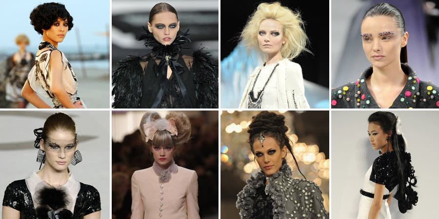 Pictures of Chanel's Best Runway Beauty Looks Over the Years
