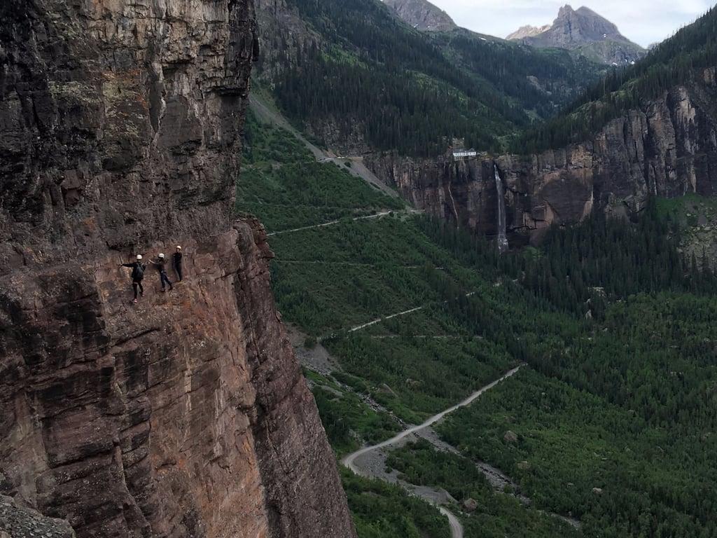 Telluride's Via Ferrata in Colorado