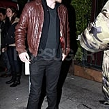 Robert Pattinson Dines at Il Sole
