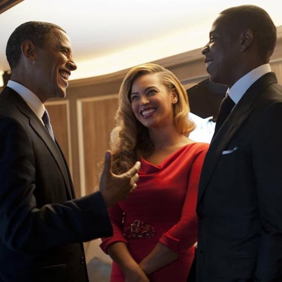 Beyonce and Jay-Z at Barack Obama Fundraiser (Video)