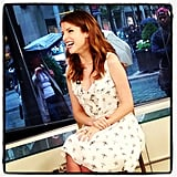 Anna Kendrick stopped by Today.
