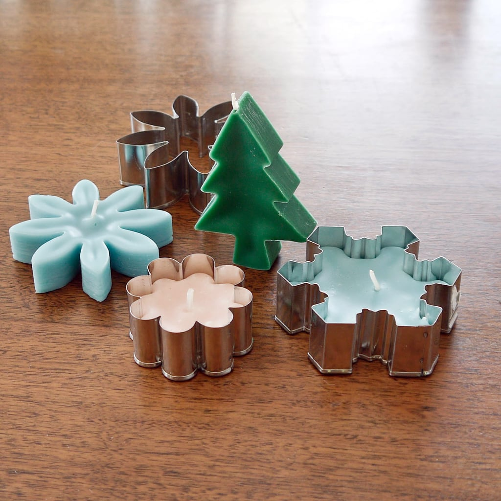 DIY Cookie-Cutter Candles   POPSUGAR Smart Living