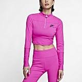 Nike Women's Ribbed Long-Sleeve Top
