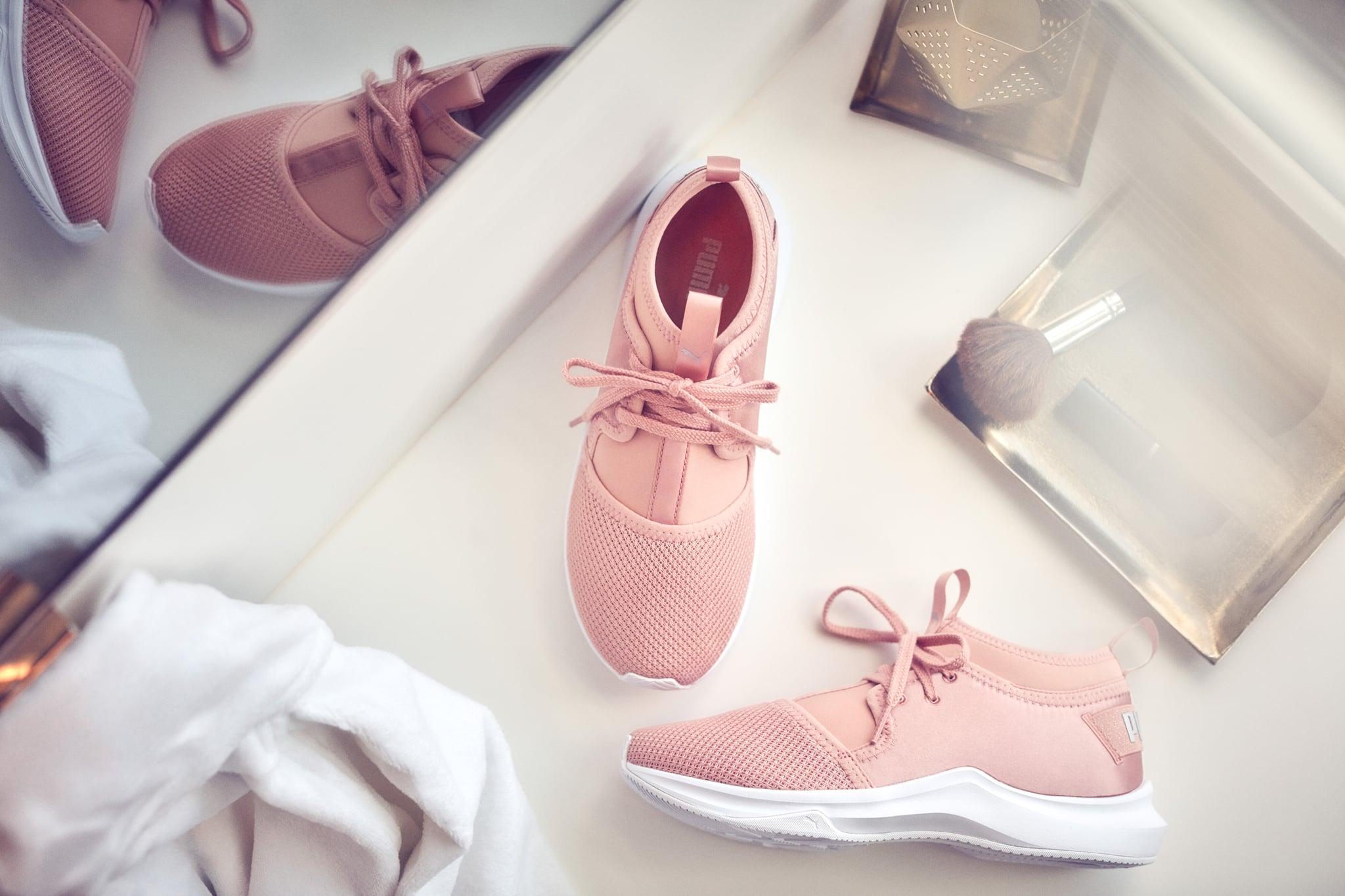pink puma shoes selena gomez