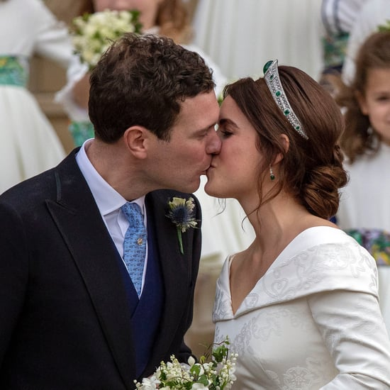 Princess Eugenie's Wedding Dress Print