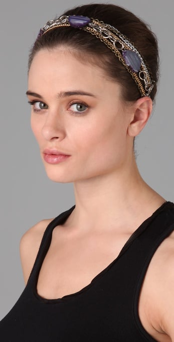 Dauphines Of New York Rock Goddess Bohemian Headband ($85)