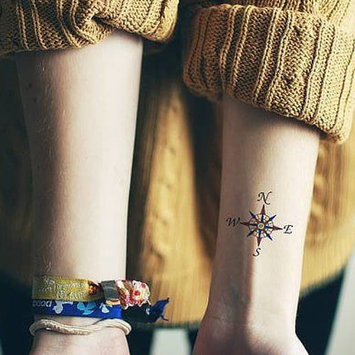 Tiny Travel Tattoos