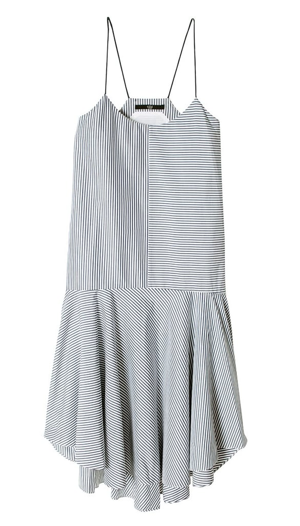 This Summer, I'm wearing my classic stripes with a twist on this sweet Tibi cami dress ($398) that I can dress up for an outdoor wedding or dress down with flat sandals on a lazy weekend. — HM