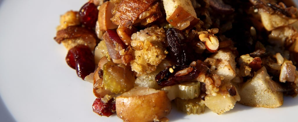 Healthy Recipe: Cranberry-Pear Wild Rice Stuffing