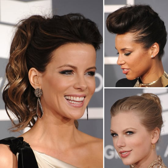 See Grammys Hairstyles From All Sides