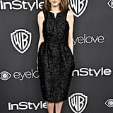 Natalia's LBD Choice Is Modest but Standout Thanks to Texture