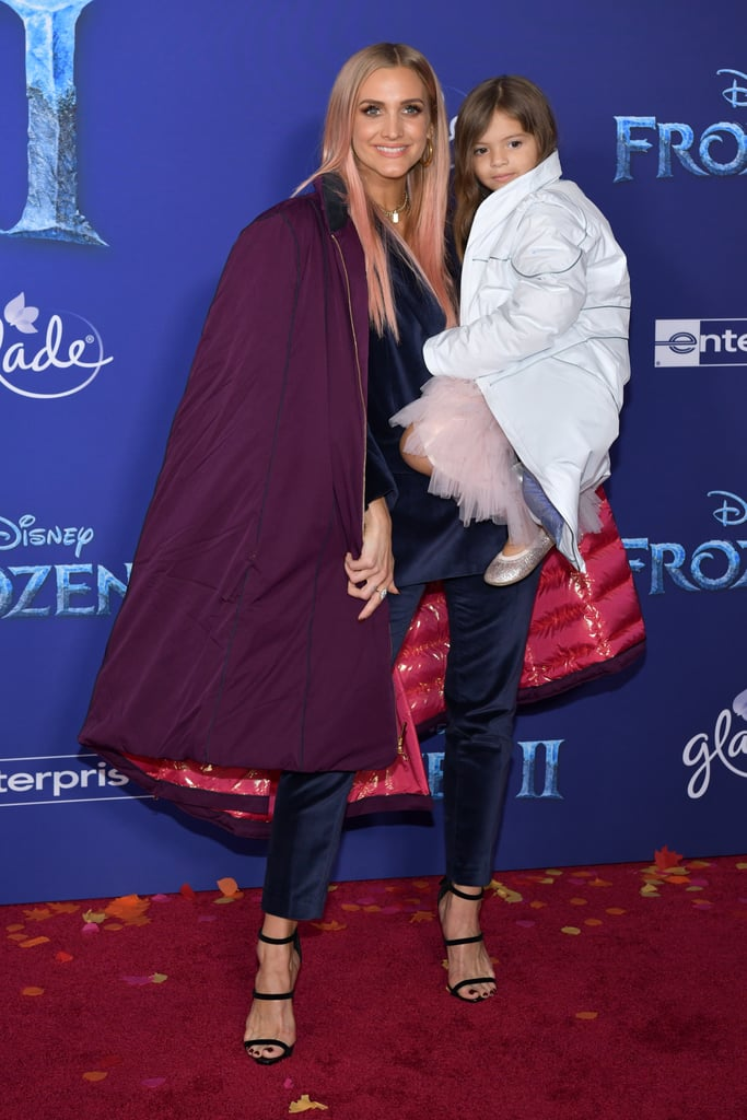 Ashlee Simpson and Jagger Snow at the Frozen 2 Premiere in Los Angeles