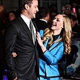 Justin Timberlake and Amanda Seyfried at the UK premiere of In Time.