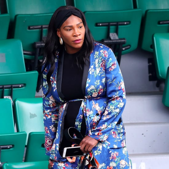 Serena Williams Wears Zara Kimono at French Open