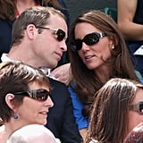 """Kate: """"Those people are totally copying us with their sunnies."""""""