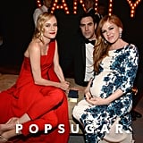 Diane Kruger, Sacha Baron Cohen, and Isla Fisher