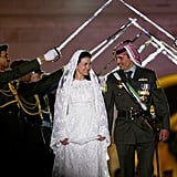 Prince Hamzah and Princess Noor  The Bride: Princess Noor bint Asem bin Nayef, second cousin of the groom. The Groom: Prince Hamzeh, former crown prince of Jordan and son of American-born Queen Noor al-Husseein. When: Aug. 29, 2003. But the official wedding celebrations were held on May 27, 2004 Where: Amman, Jordan.