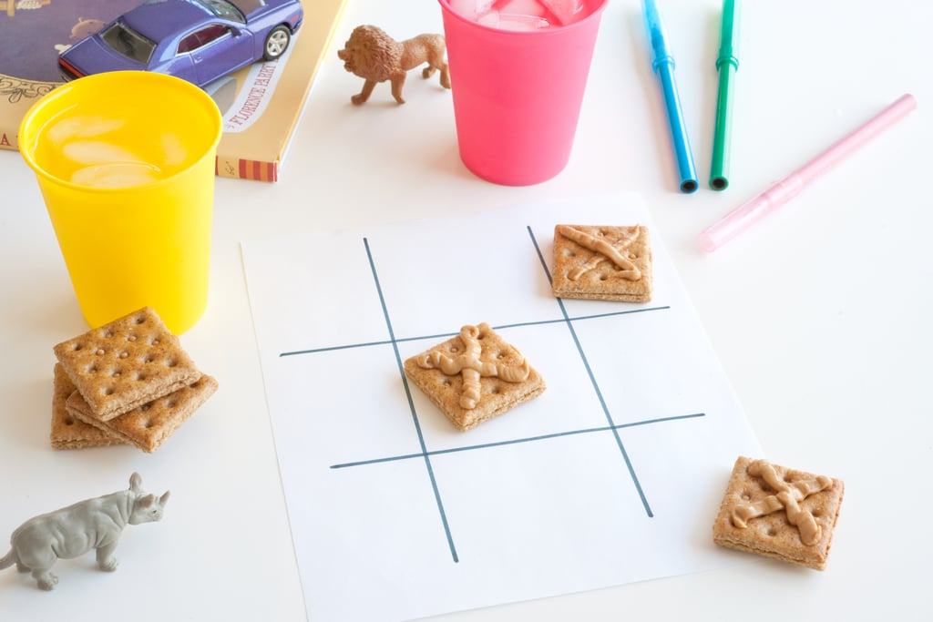Snack Time With Edible Tic-Tac-Toe