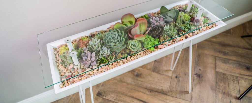These Sleek BloomingTables Double as Succulent Planters