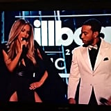 """When Ciara danced to """"Can't Feel My Face"""" and The Weeknd was like, """"😒."""""""