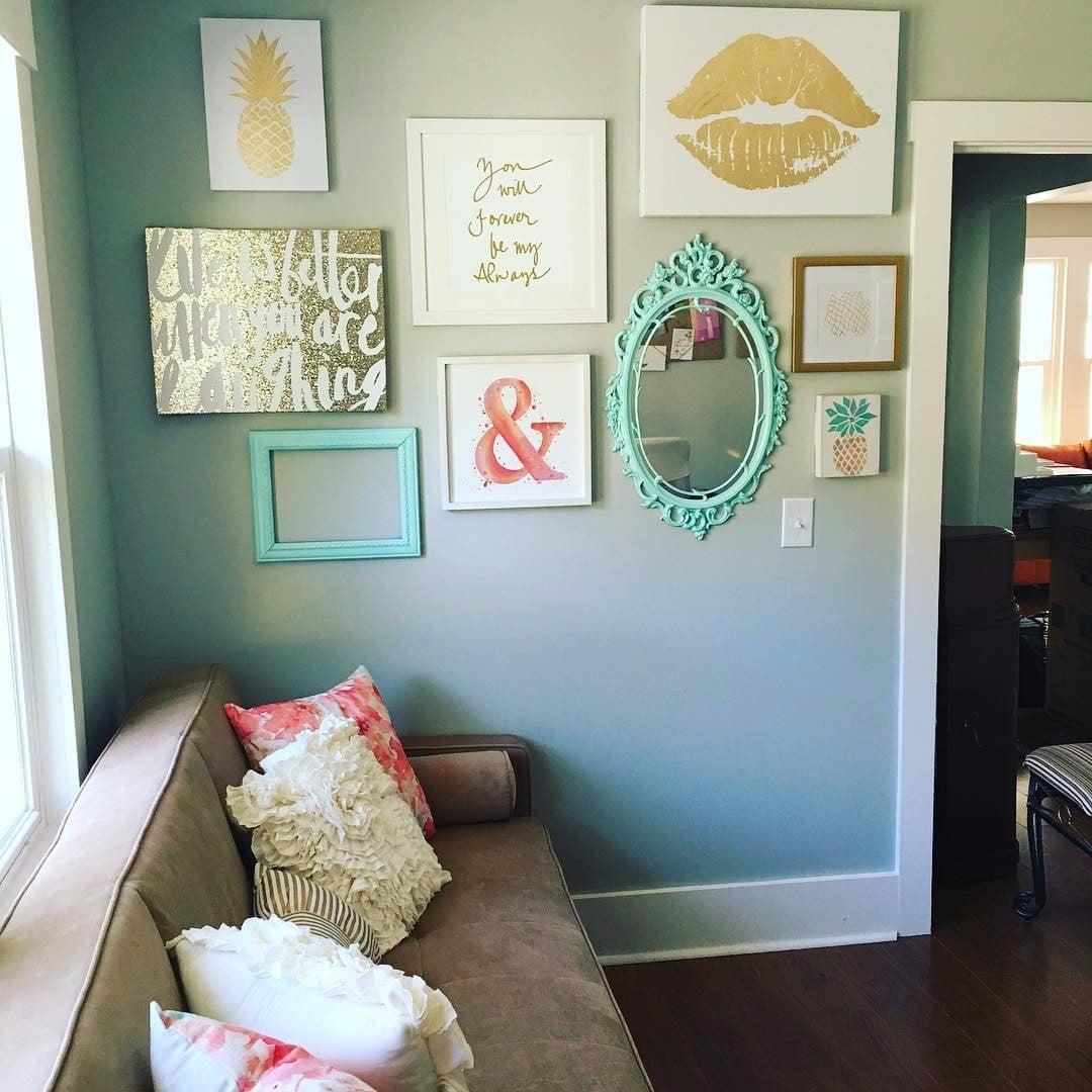 Glitter Home Decor