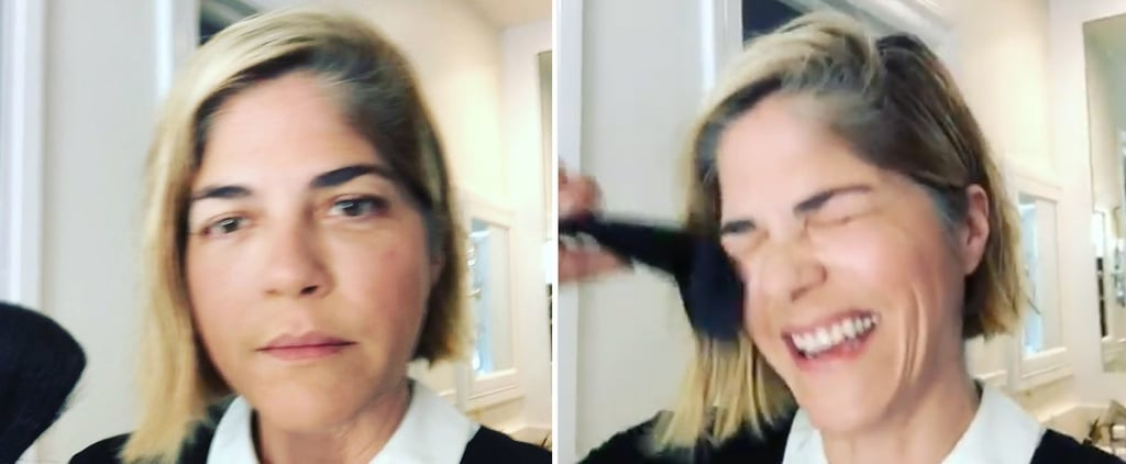 Selma Blair Makeup Video With Multiple Sclerosis