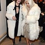 Carine Roitfeld and Kim Kardashian.