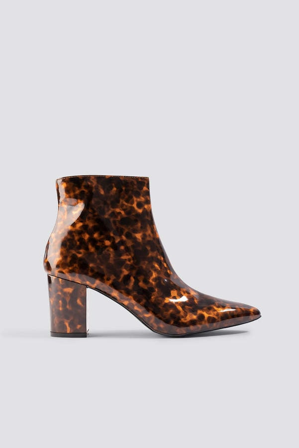 Raid Arden Tortoiseshell Ankle Boots