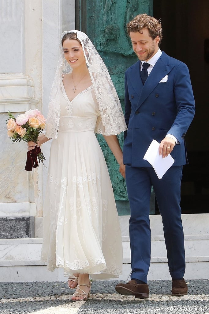 Bee Shaffer's Wedding Dress in Italy 2018