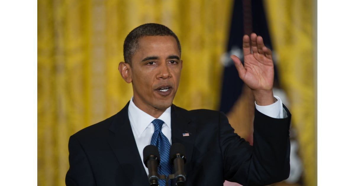 Obama not wearing