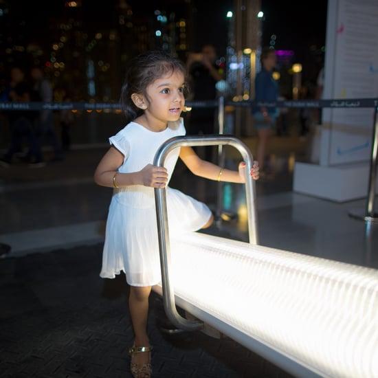 ساحة لعب تجريبيّة في دبي مول