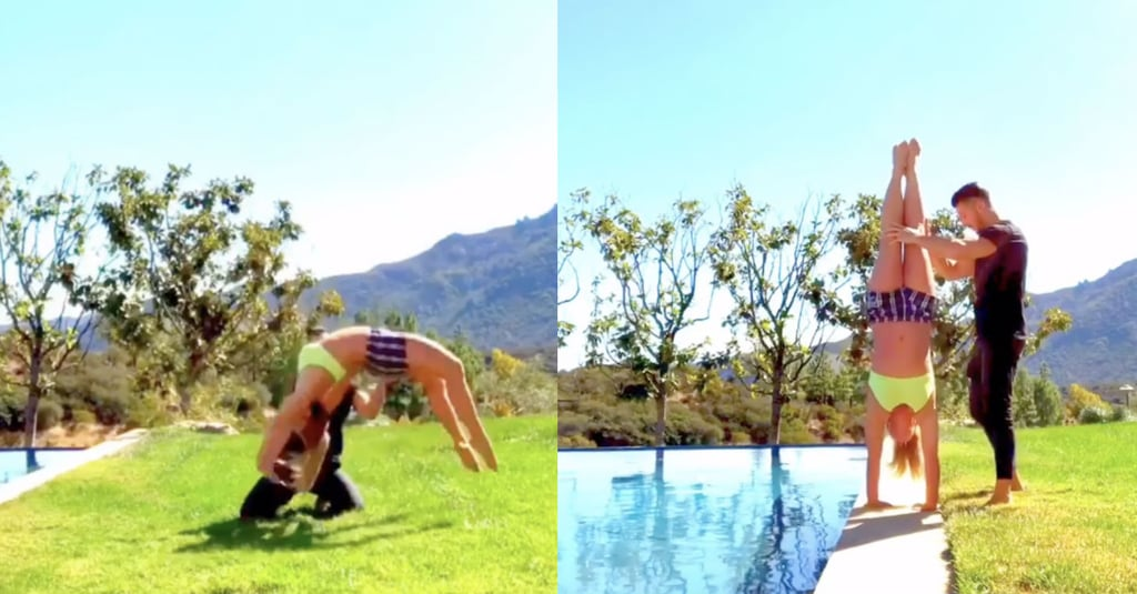 Watch Britney Spears Do Gymnastics