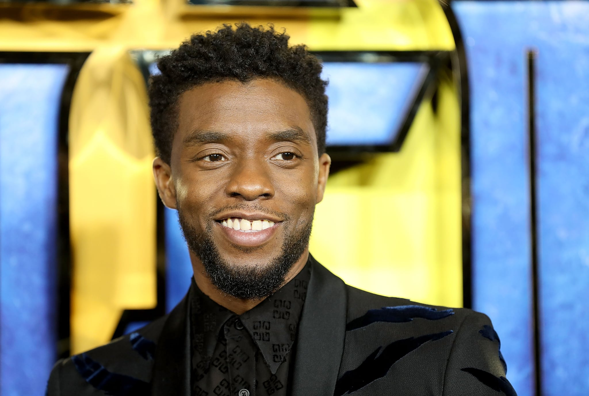 LONDON, ENGLAND - FEBRUARY 08:  Chadwick Boseman attends the European Premiere of 'Black Panther' at Eventim Apollo on February 8, 2018 in London, England.  (Photo by Tim P. Whitby/Tim P. Whitby/Getty Images)