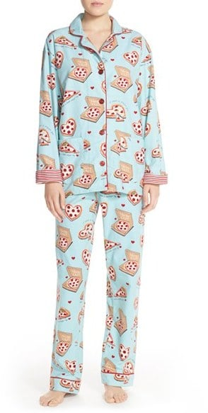 PJ Salvage Print Flannel Pajamas ($62)