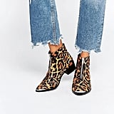 Asos 'Alexis' Leather Zip Ankle Boots ($81)