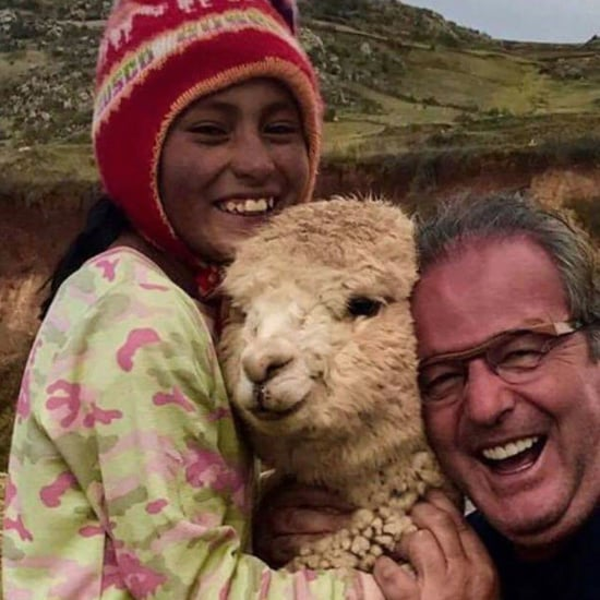 Viral Tweet About Dad's Reaction to Meeting Alpacas in Peru