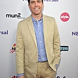 Ed Helms at an NBC party.