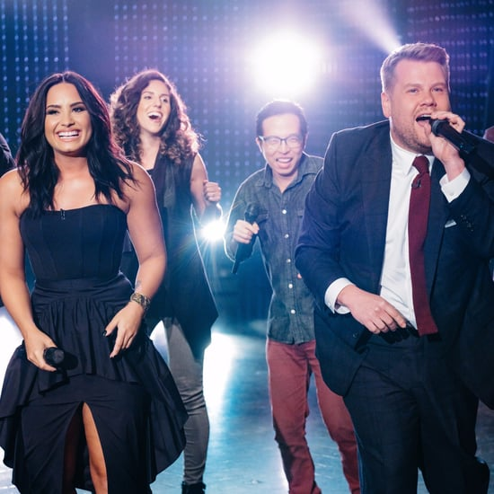 Demi Lovato Divas Riff-Off With James Corden Video